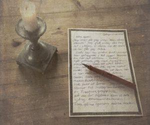 Skriva brev, och för hand!