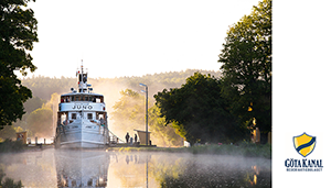Res med oss i Augustas fotspår på Göta Kanal den 30 maj
