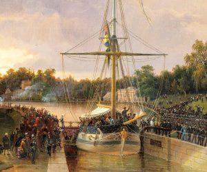 """Augustas resa på Göta Kanal – """"en av de vackraste man kan göra"""""""