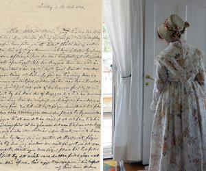 Dagar fyllda av sömnad och brev – ytterligare en 1840-talsklänning är klar!