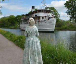 Saras resedagbok på Göta Kanal: Dag 2, Söderköping till Motala
