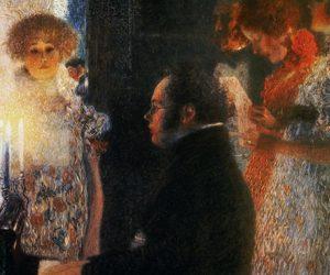 Sjöng Augusta sånger av Franz Schubert på Lunda gård?