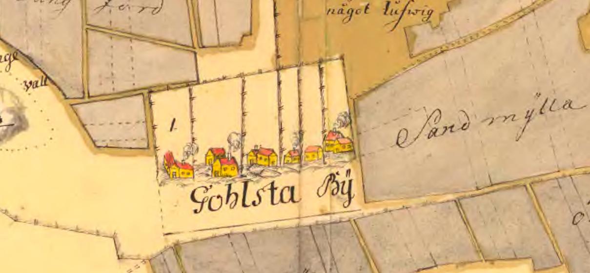 Stora Gåhlstad, vilken kartskatt eller skattkarta?