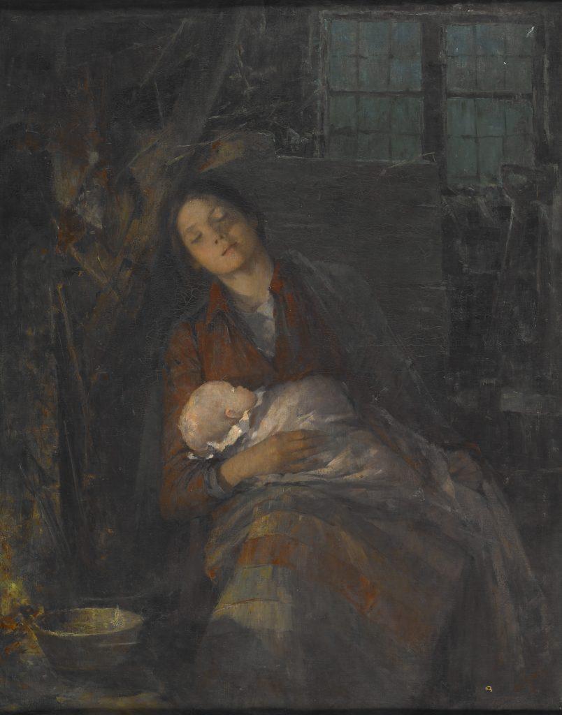Målning av Anna Nordgren 1847-1916 (Indianapolis museum of art)