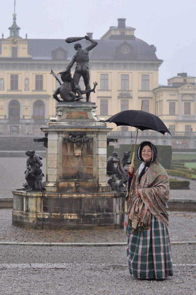 Drottningholms kopia av Herkulesfontänen