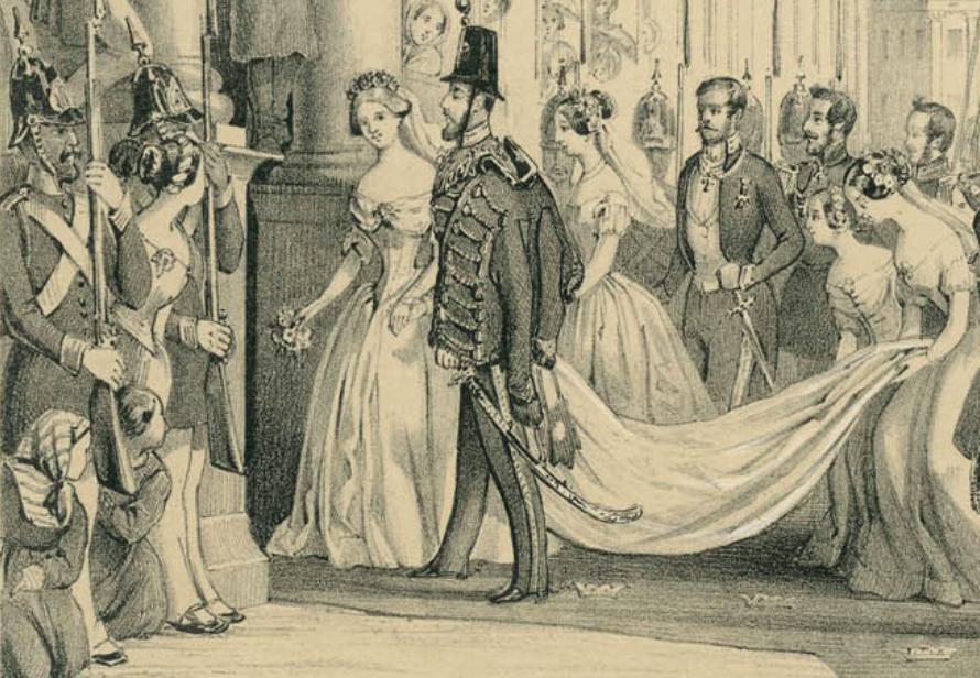 Prinsessan Lovisa hade också Myrtenkrans