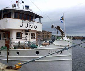 Saras resedagbok på Göta kanal – dag 1 avresan från Stockholm 30 maj